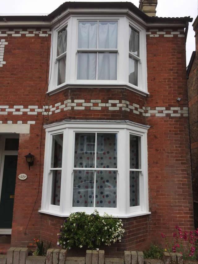 Replacement sash bay windows in Horsham West Sussex 3
