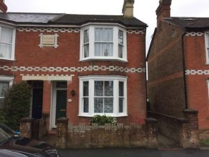 Replacement sash bay windows in Horsham West Sussex