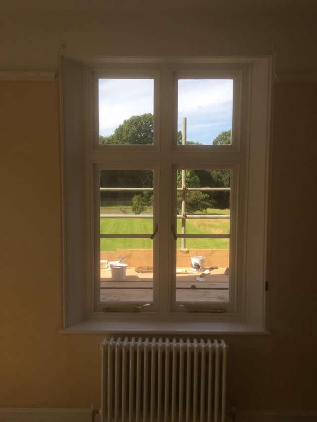 Bespoke hardwood windows installed in Newdigate Surrey 4