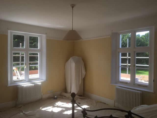 Bespoke hardwood windows installed in Newdigate Surrey 5