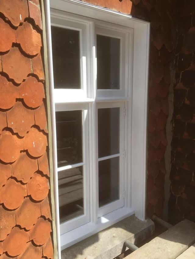Bespoke hardwood windows installed in Newdigate Surrey 6