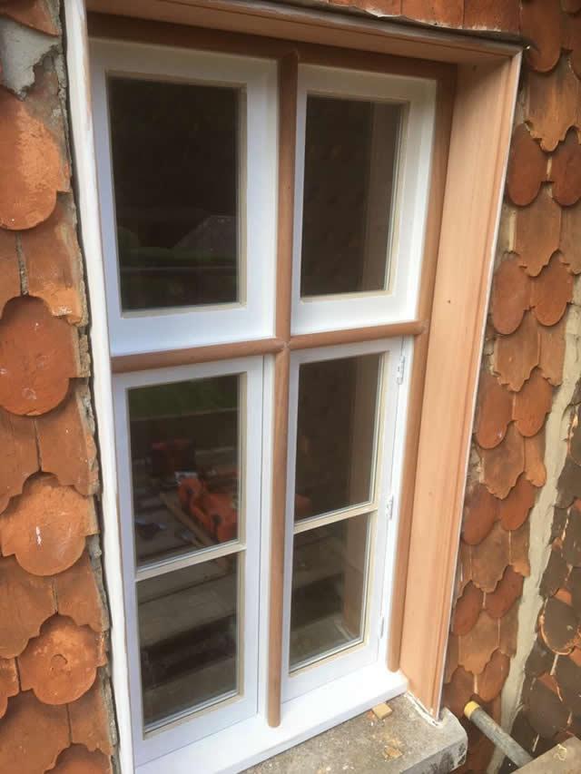 Bespoke hardwood windows installed in Newdigate Surrey