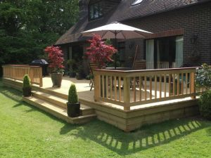 Large bespoke decking are in Newdigate 7