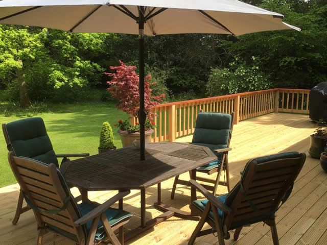 Large bespoke decking are in Newdigate 8
